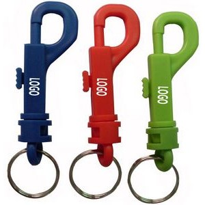 Plastic Bolt Snap Hook Key Holders