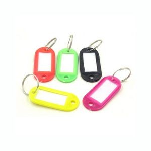 Keychain With Writable Label