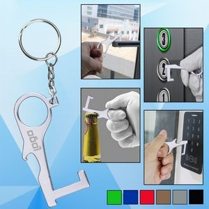 PPE Door and Bottle Opener/Closer No-Touch w/ Key Chain