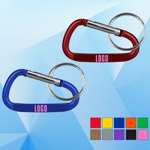 Carabiner with Split Key Ring