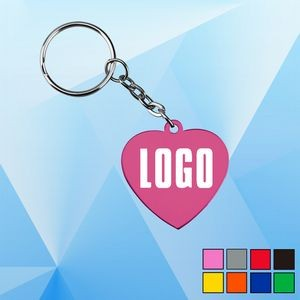 Aluminum Pet Tag with Keychain