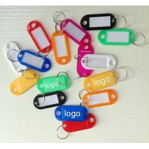 Writable Paper Card Keychain
