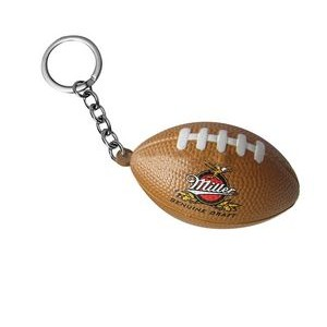 PU Stress American Football Keychain
