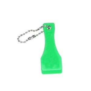 Spatula Shaped Lotto Scratcher Shovel Lucky Lottery Keychain