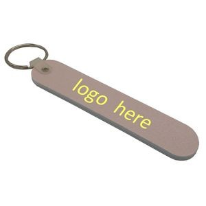 "3.5"" Nail File with Key Ring"